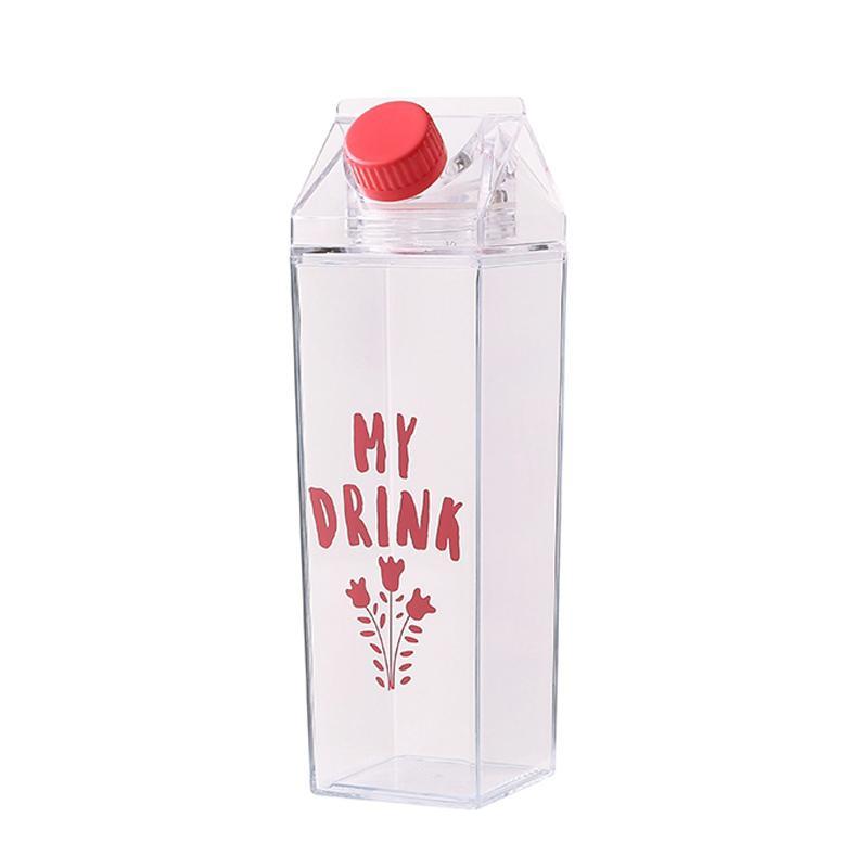 Eco-friendly Milk Carton Water Bottle
