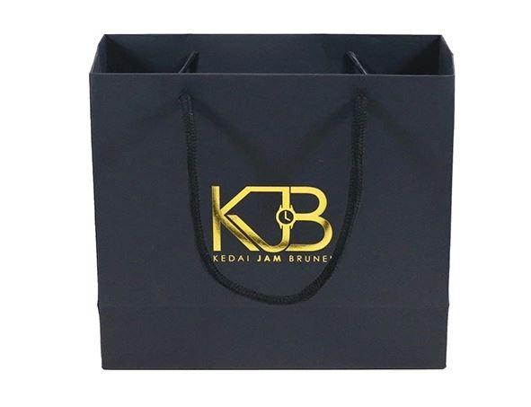 Promotion Custom Printed Logo Plain Shopping Gift Kraft Paper Bag